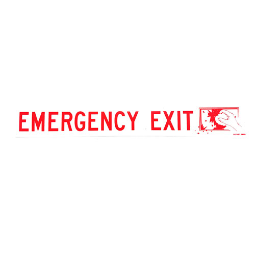 Emergency Exit Large Outside