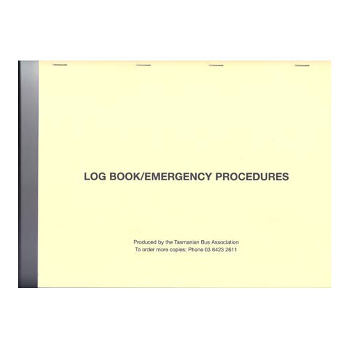 log books inc DVR 10 sheets