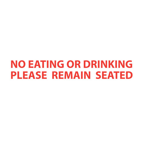 Bus Rules (No Eating Please Remain Seated)