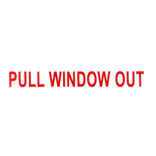 Pull Window Out
